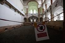 Průběh rekonstrukce Severočeského muzea v Liberci.