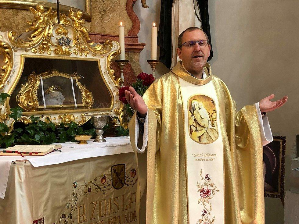 Farář Pavel Andrš.