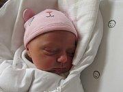 JULIE STROUHOVÁ  Narodila se 3. října v liberecké porodnici manželům Strouhovým ze Stráže n. Nisou. Vážila 3,10 kg a měřila 48 cm.