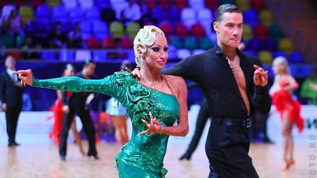 Taneční pár Marek Bureš – Anastasia Jermolenková