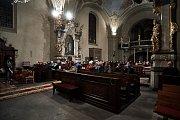 Tříkrálový koncert v kostele Nalezení svatého Kříže v Liberci
