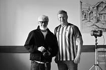 Fotograf a herec. Robert Vano a Ladislav Hampl.
