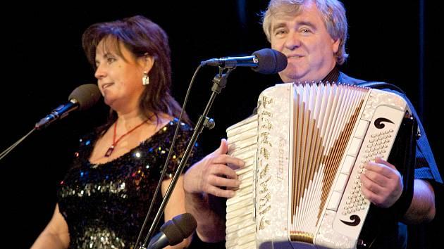 EVA a VAŠEK na koncertě v Turnově