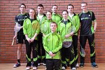 PŘEBORNÍCI KRAJE. Badmintonový Slovan Vesec porazil vše, co mu stálo v cestě.