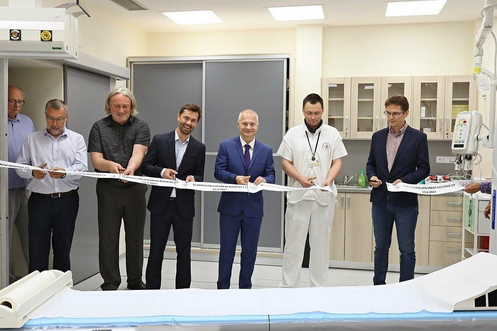 V liberecké nemocnici mají nový výpočetní tomograf.