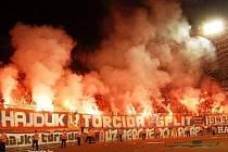 FANOUŠKY Hajduku nezajímá ani tak výsledek zápasu, jako pořádné povyražení. Někteří z nich to mají jako placenou práci.