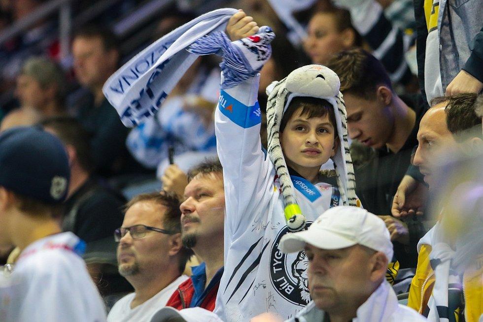 Druhé finálové utkání mezi Bílými Tygry Liberec a Kometou Brno
