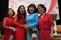 Vietnamské oslavy MDŽ v libereckém Koloseu