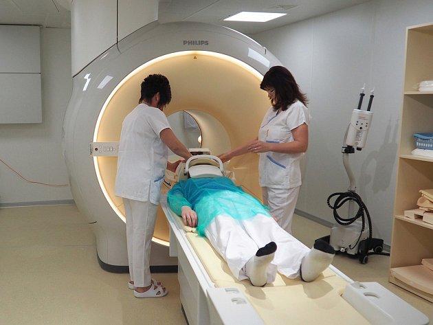 Druhá magnetická rezonance v Krajské nemocnici v Liberci.