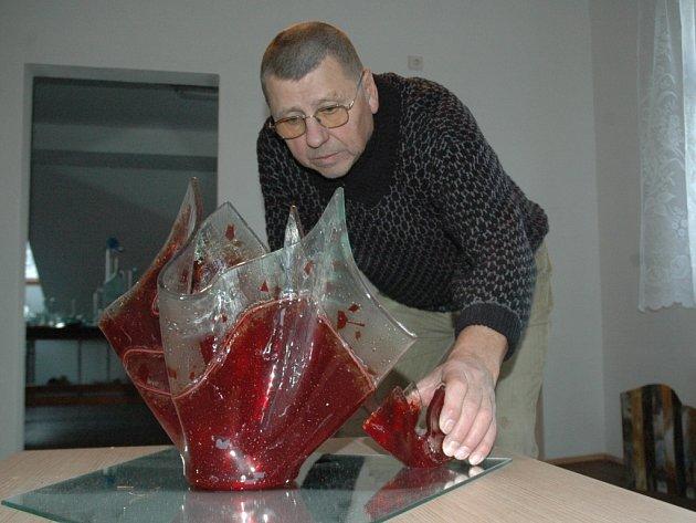 Pořadatel trhů Josef Novotný.
