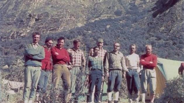 Část účastníků Expedice v Peru.