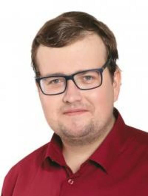 Jan Koros, 24 let, učitel na základní škole, Česká Lípa, KSČM.