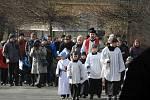 Průvod na Květnou neděli zahájil Velikonoce v Jablonci.