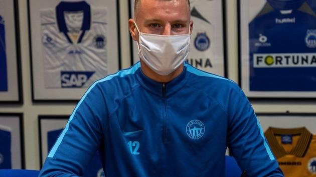 Nová posila Slovanu Marios Pourzitidis.