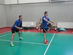 Juraj Vachálek a Mirko Šída, kteří v obou čtyřhrách mužů vyhráli.
