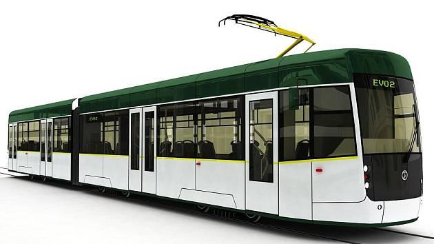 Takto si podobu nové tramvaje představuje výrobce.