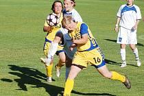 II. liga fotbalu žen: Domácí Slovan Liberec porazil velmi dobrého soupeře brankou Nikoly Kotkové a s nadějemi půjde do druhého zápasu, který se hraje tuto neděli v Jihlavě.