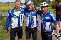 Koloběžkář Jelínek dal 200 km za necelých 10 hodin