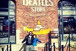 muzeum The Beatles Story v Liverpoolu v Albert Dock