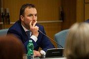 Výjezdní zasedání vlády ČR v Libereckém kraji proběhlo 13. března. Na snímku je vládní zmocněnec pro sport Milan Hnilička.