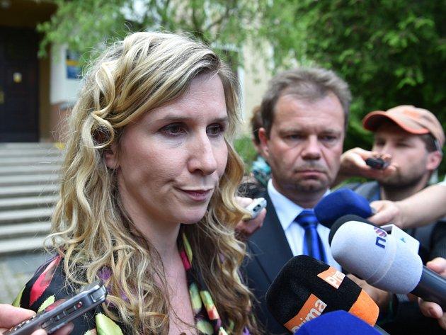 KATEŘINA VALACHOVÁ, ministryně navštívila ústav v Chrastavě.