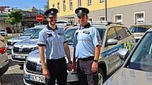 Policisté v kraji mají nová služební auta.