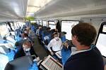 Netradiční předvolební debata Deníku ve vlaku mezi Libercem a Turnovem