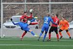 Fotbalisté Slovanu nasázeli v přípravě Chrudimi pět branek.