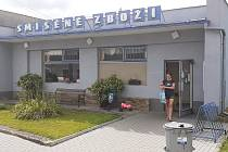 Potraviny v Kunraticích na Frýdlantsku, jejichž provozovatelka by ráda požádala o dotaci z programu Obchůdek 2021+