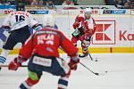 35. kolo extraligy ledního hokeje mezi Bílí Tygři Liberec a Dynamo Pardubice