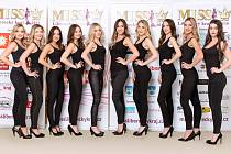 Finalistky MISS Liberecký kraj 2018.
