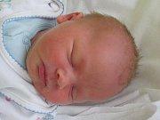 JONÁŠ KONÝVKA. Narodil se 6. prosince v českolipské porodnici mamince Lucii Konývkové z Liberce. Vážil 3,02 kg.