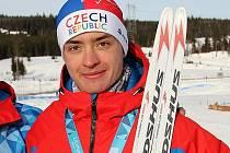 ONDŘEJ PAŽOUT. S bronzovou medailí z mládežnické olympiády v Norsku.