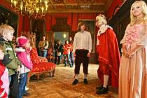 Netradičních prohlídky na zámku Sychrov. Ilustrační foto.
