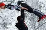 Hessler Pauline Ger se připravuje na svůj skok