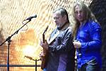 Na snímku kapela BSP, jejíž členové jsou Ota Balage (klávesy), Kamil Střihavka (zpěv) a Michal Pavlíček (kytara).