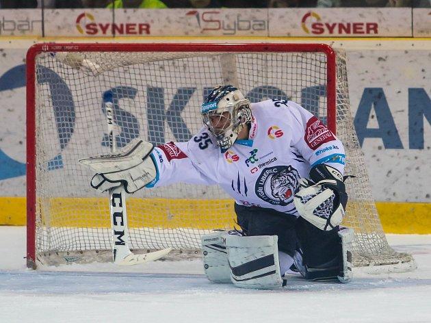 Liberecký gólman Roman Will.