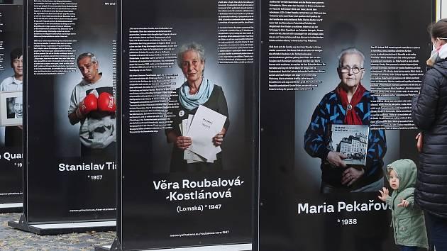 Putovní výstava Paměť národa  v Litoměřicích. Ilustrační foto.