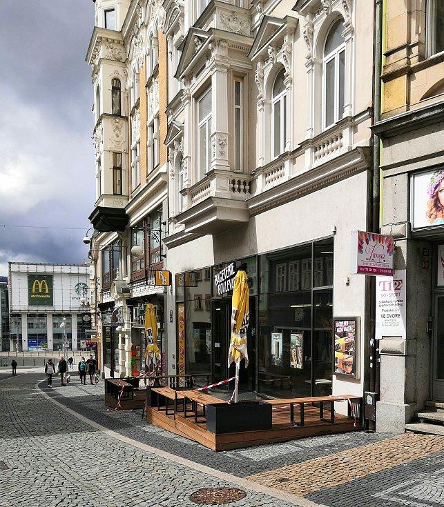 Bageterie Boulevard v Liberci.