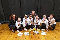 Sport Aerobic Liberec získal na Slovensku dvě bronzové medaile
