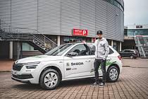 Liberecký útočník Michal Birner převzal cenu za nejproduktivnějšího hráče měsíce ledna.