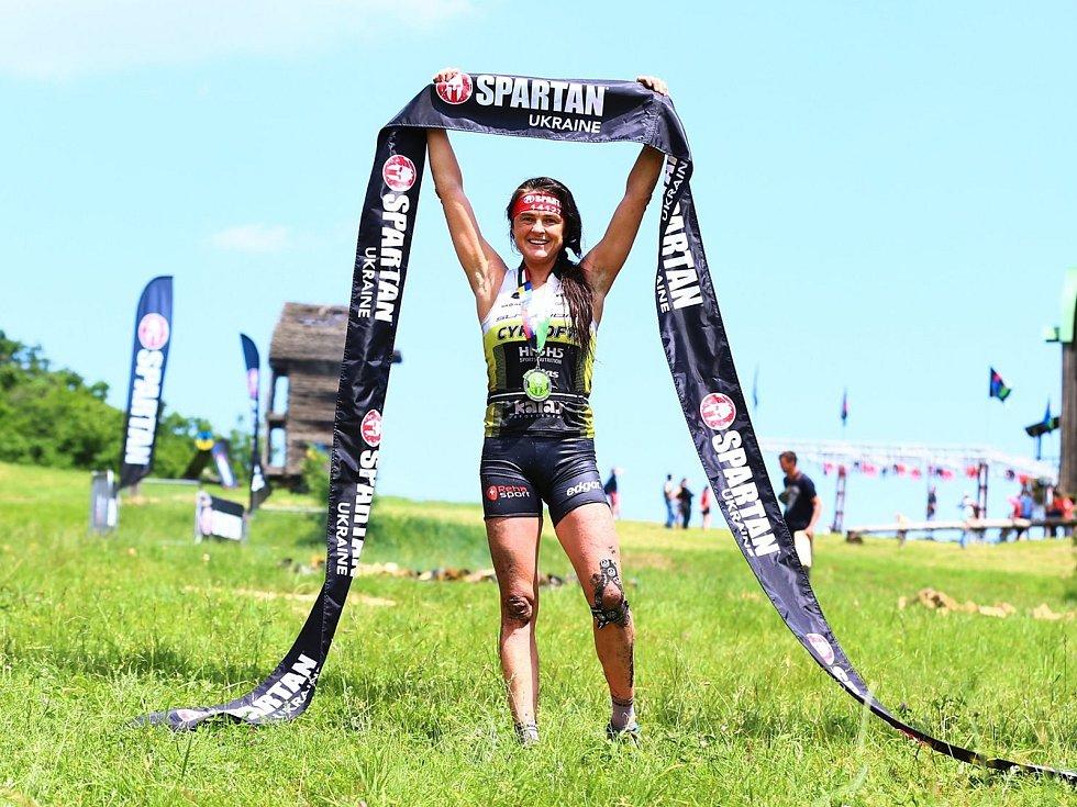 Zuzana Kocumová vyhrála v Kyjevě Spartan Beast i Super.