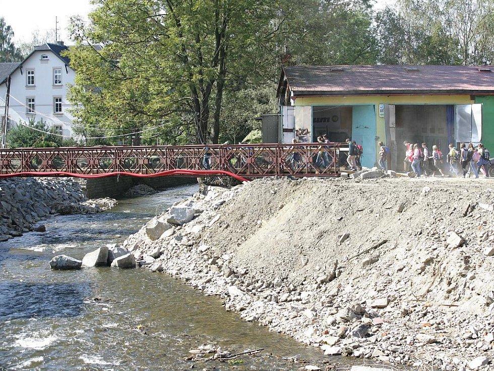 Chrastava - měsíc a půl po ničivé povodni.