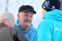Neúspěšný kandidát na prezidenta Přemysl Sobotka se přišel podívat na start Jizerské 50