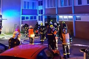 V pátek ráno zaměstnal hasiče výbuch plynu v panelovém domě v Liberci.
