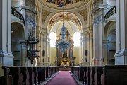 Chrám Navštívení Panny Marie v Hejnicích.