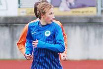 JAKUB MATĚJKA. Hráč staršího dorostu U19 Slovanu Liberec a reprezentace U17.