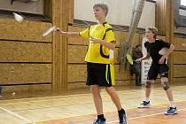 Badminton - čtyřhra chlapců