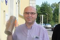 Pavel Novotný, starosta Jindřichovic pod Smrkem.