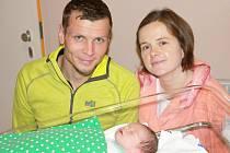 Mamince Angelice Pešík z Liberce se dne 11. prosince v liberecké porodnici narodil syn Leopold. Měřil 52 cm a vážil 3,4 kg.